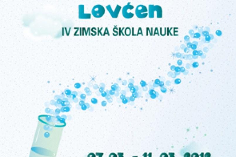 Istraživačka stanica Lovćen,  7-11. 03. 2012.   Zimska škola nauke