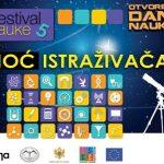 Poziv za učešće na festivalu nauke 'Noć istraživača' 2013. 2
