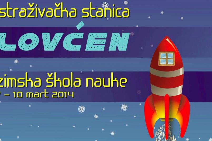 Zimska škola za mlade istraživače u Istraživačkoj stanici Lovćen na Ivanovim Koritima, od 7. do 10. marta