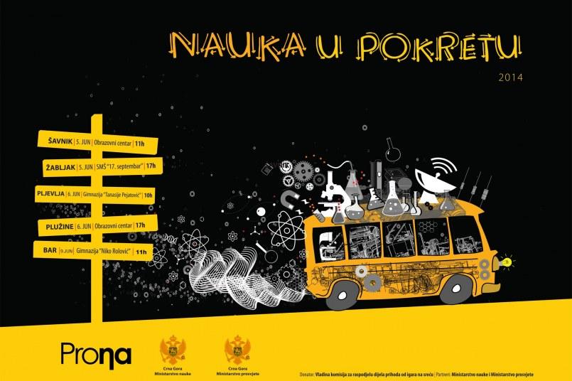 NAUKA U POKRETU 5-9. jun 2014. Šavnik, Žabljak, Pljevlja, Plužine i Bar