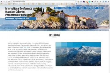 International Conference on Quantum Coherent Phenomena at Nanoscale