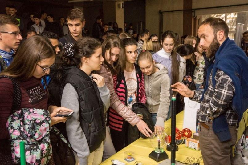 Putujući festival Nauka u pokretu prošao kroz četiri grada, na redu Ulcinj