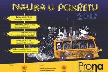 """Počinje sedmi putujući festival """"Nauka u pokretu"""""""