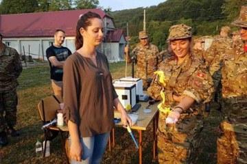 PRONA posjetila polaznike Ljetnjeg vojnog kampa za mlade 2017
