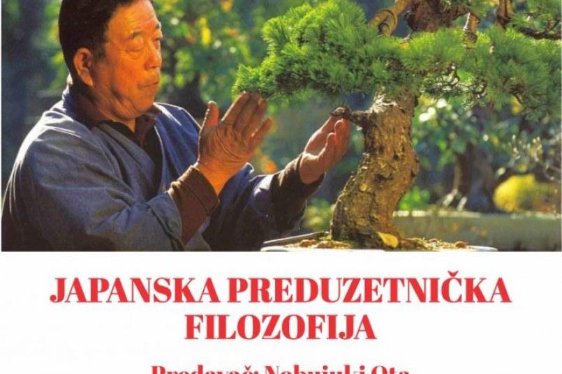 Predavanje na temu JAPANSKA PREDUZETNIČKA FILOZOFIJA