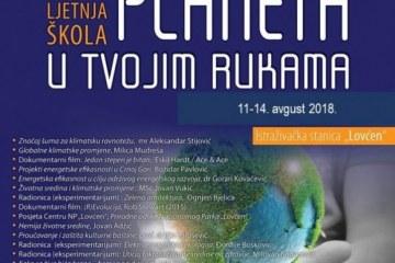 "Program VIII Istraživačkog kampa ,,Planeta u tvojim rukama"", 11-14. avgusta 2018."