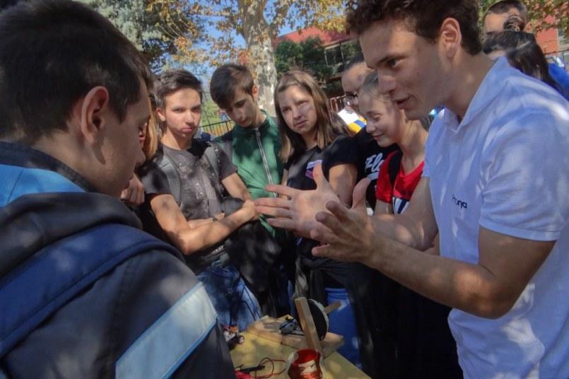 """Putujući festival """"Nauka u pokretu"""", 11. 10. 2018. godine"""