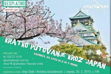 Održana radionica: Kratko putovanje kroz Japan